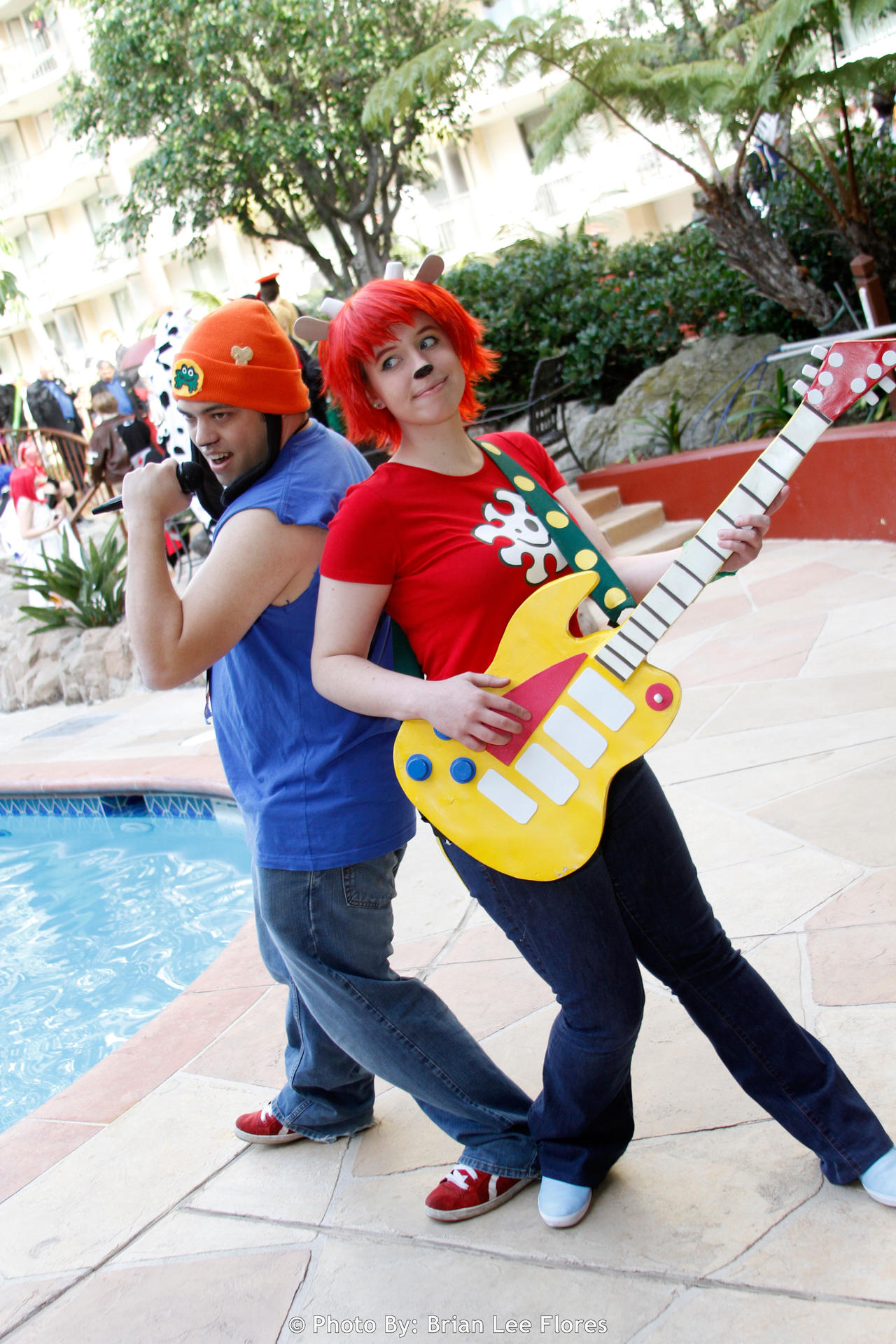 cosplay rapper Parappa the