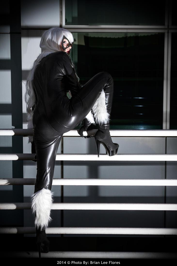 Comikaze 2013 - Black Cat (Escaping) by BrianFloresPhoto