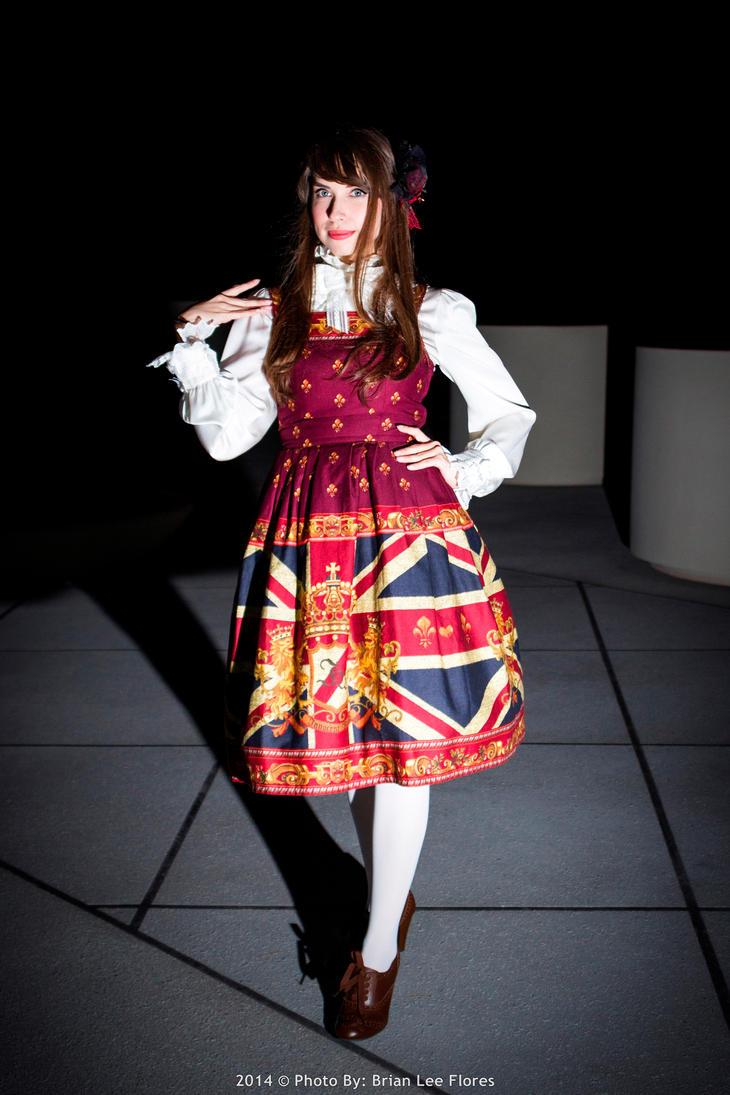 Lolita Fashion - Standing by BrianFloresPhoto