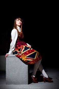 Lolita Fashion - Sitting