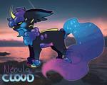 Nebula Cloud SoulFox Auction (Open) by peipaw