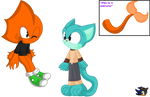 Gumball and Darwin Sonic Form