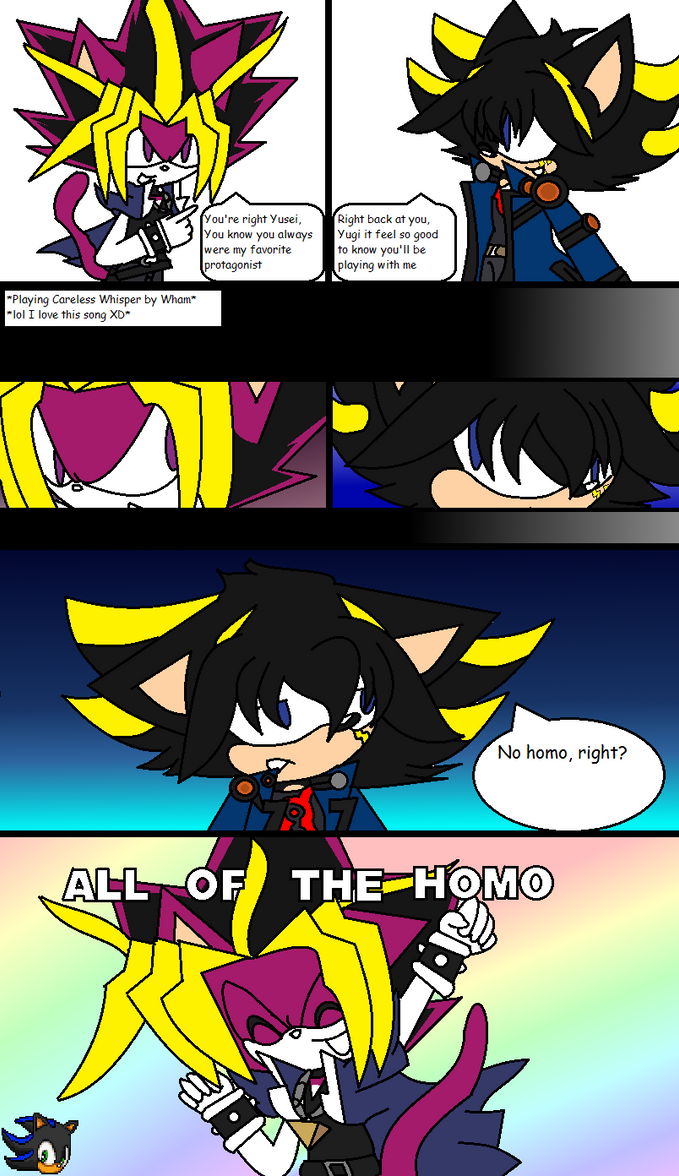 .:No Homo:. Mini comic by Shadethebathog