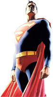 Superman by Alex Ross by SuperRenders