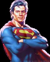 Superman by Carlos Valenzuela by SuperRenders