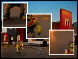 Franky goes to McDo