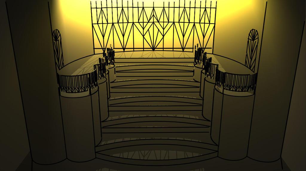 Art Deco Stair By Tuppfarm ...