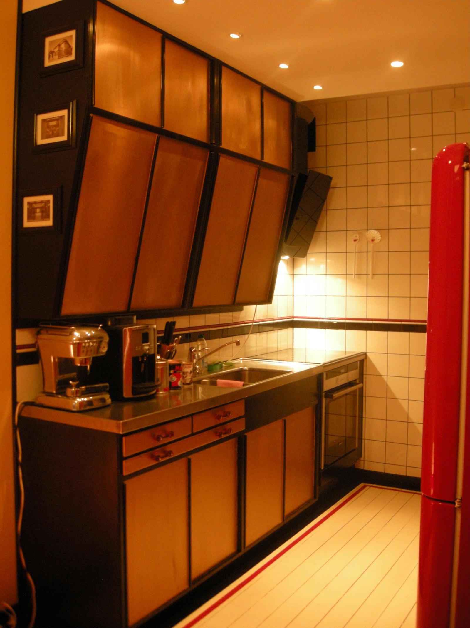 Renewed retro kitchen