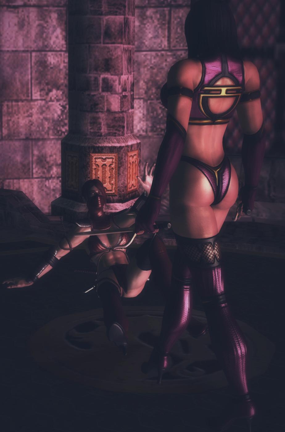 Sexy mileena desnuda xxx clips