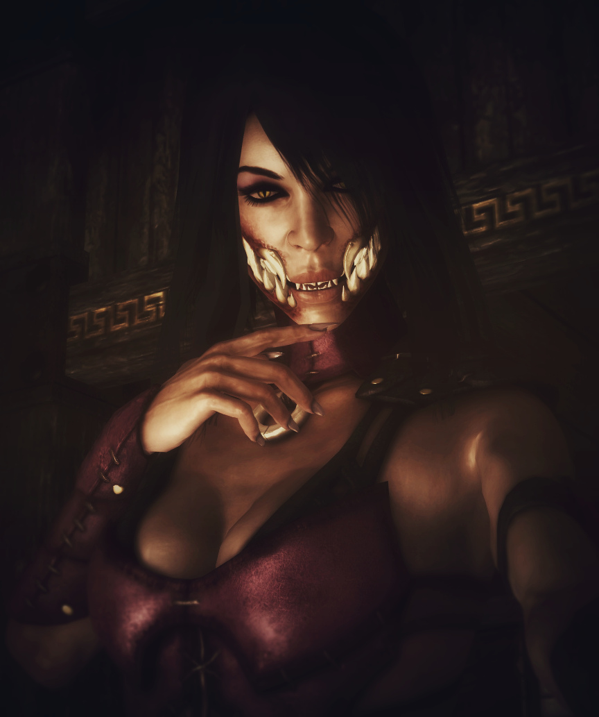 Love this...its nude mileena mkx OINK!! OINK!!