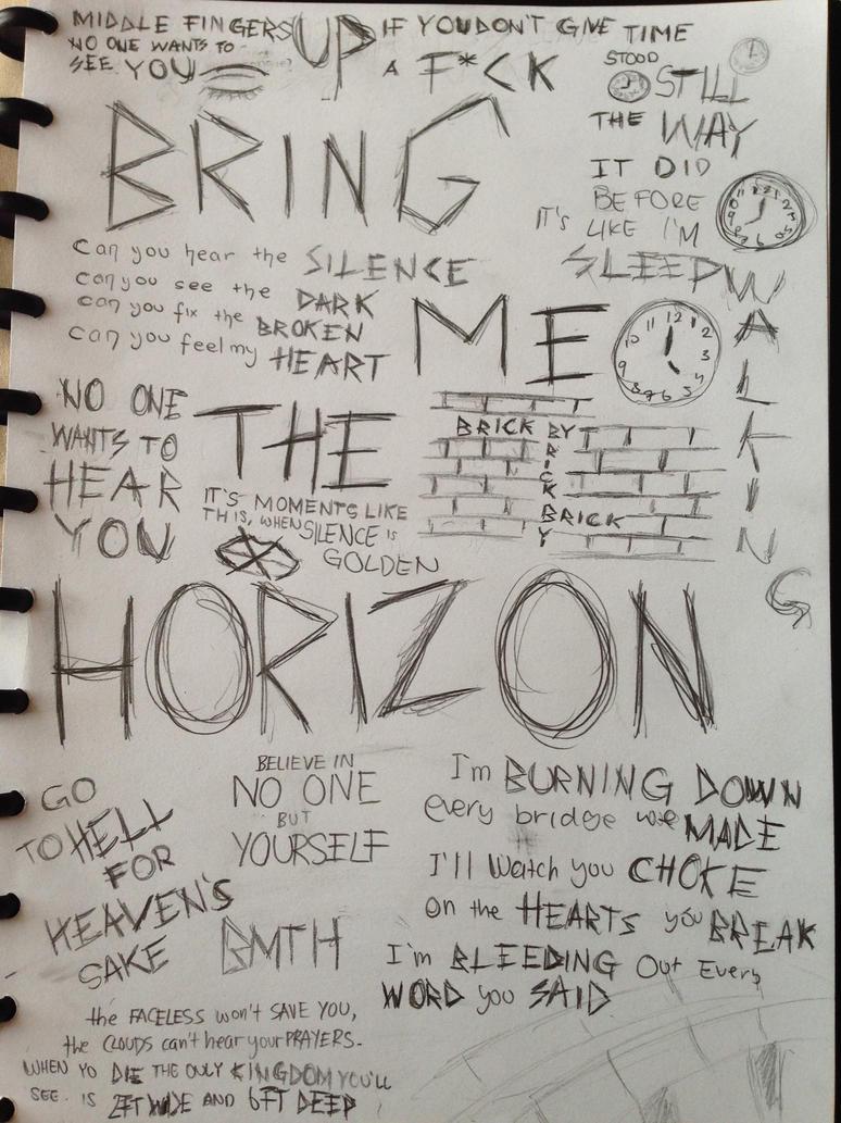 Bring Me The Horizon Lyrics Bring Me The Horizon Fanart by