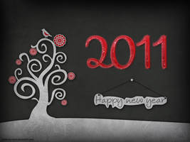 Happy new year 2011 by Etoile-du-nord