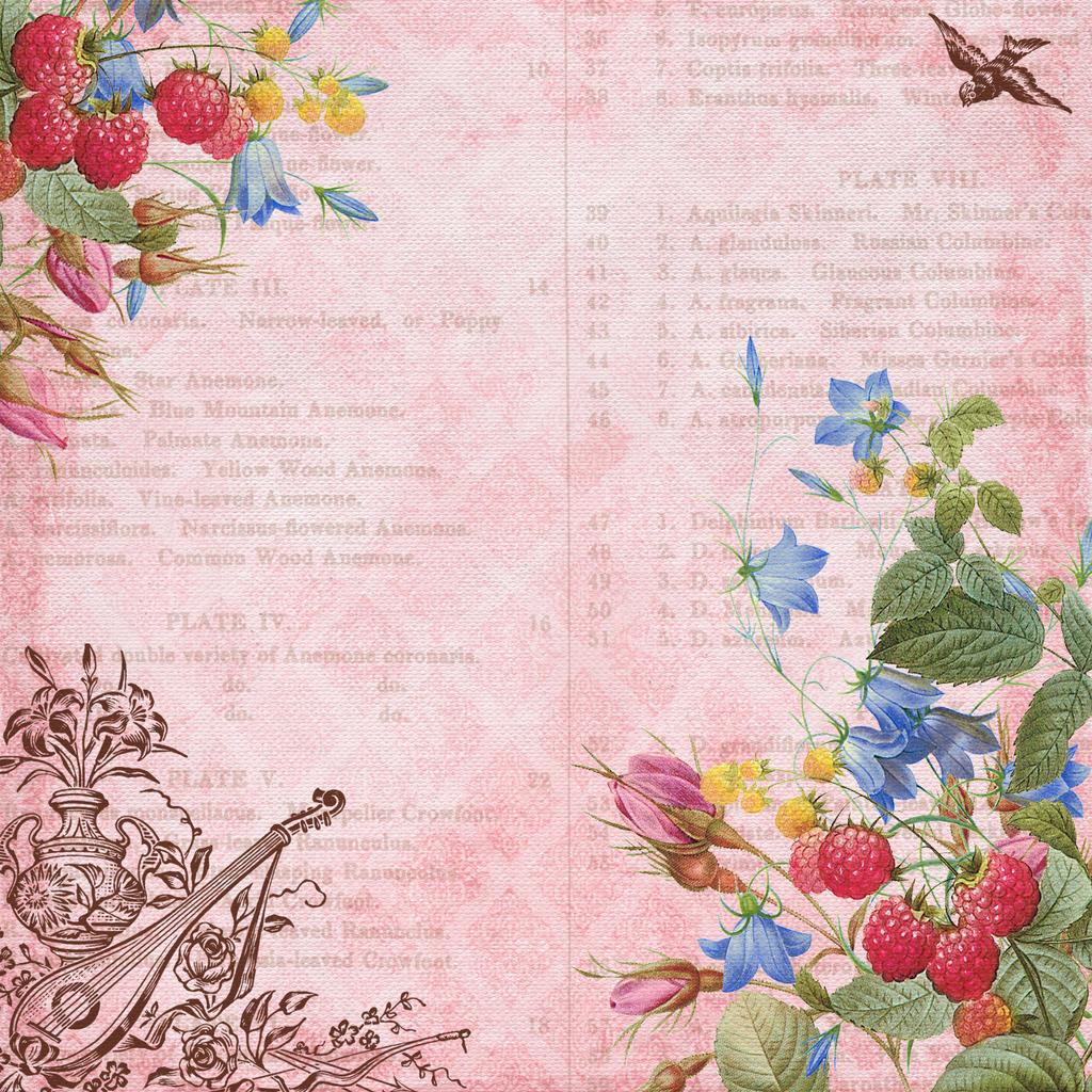 floral texture 4 by Etoile-du-nord