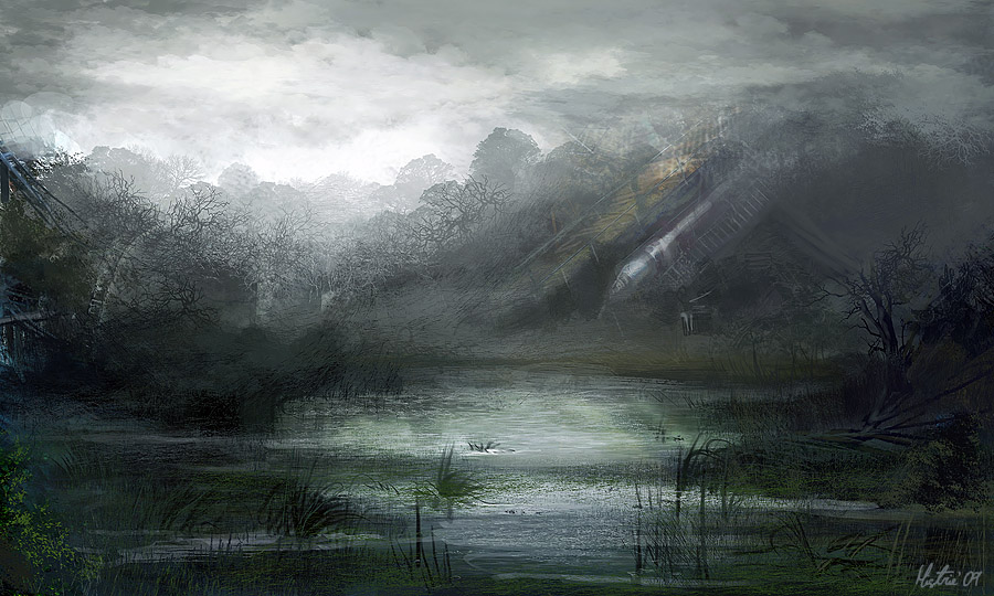 Swamp by AppleSin