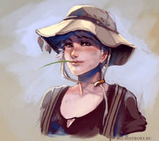 Fisherwoman by AppleSin