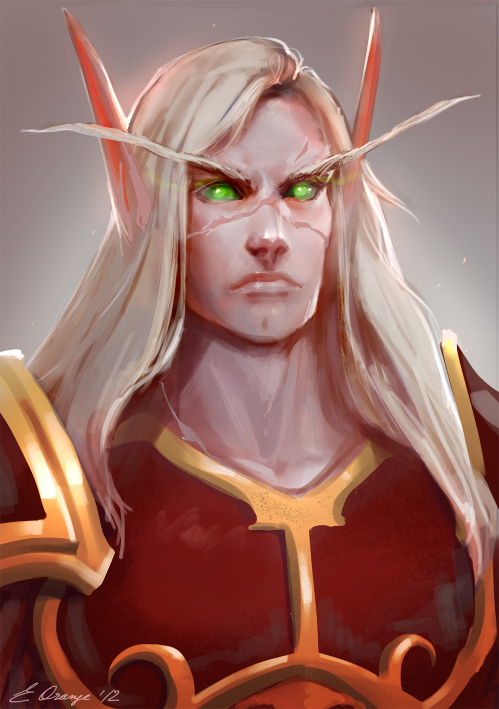 WoW: Vranr the Blood Elf by AppleSin