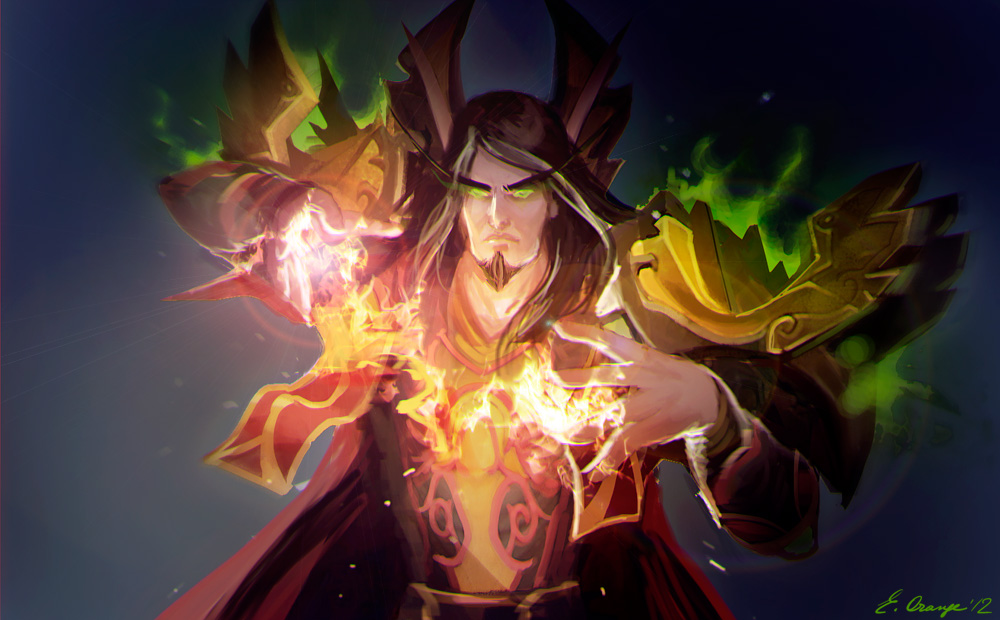 WoW: BE mage by AppleSin