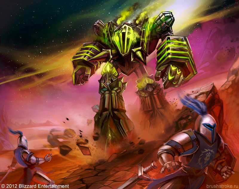 WoW TCG: Fel Reaver by AppleSin
