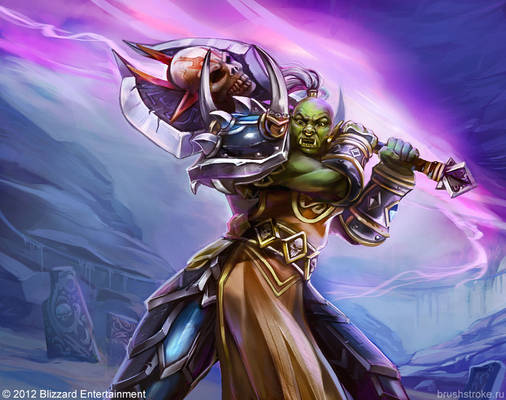 WoW TCG: Orc Warrior