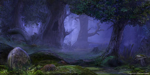 Deep Forest by AppleSin