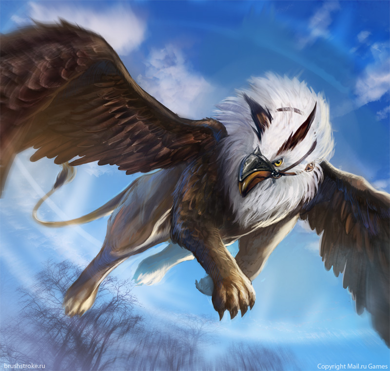 Griffin by applesin on deviantart for The griffin