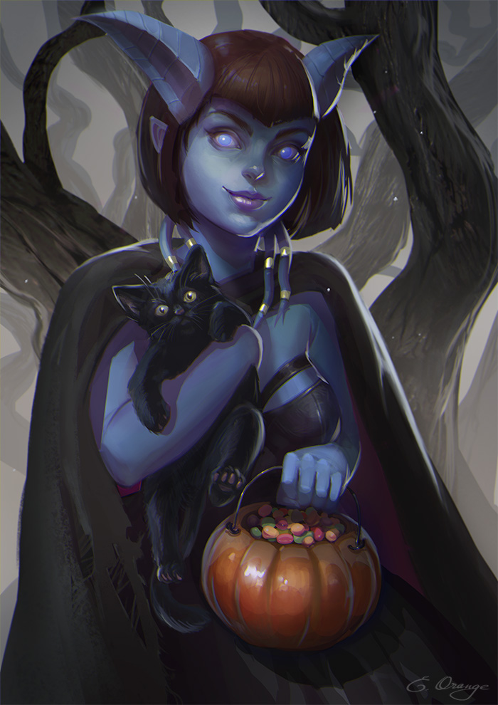 Halloween is coming by AppleSin