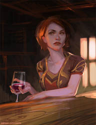 WoW: A glass of wine