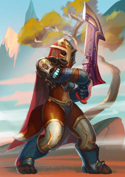 WoW: Fierce warrior