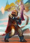WoW: Fierce warrior by AppleSin