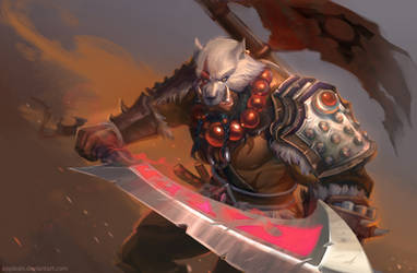 WoW: Blademaster by AppleSin