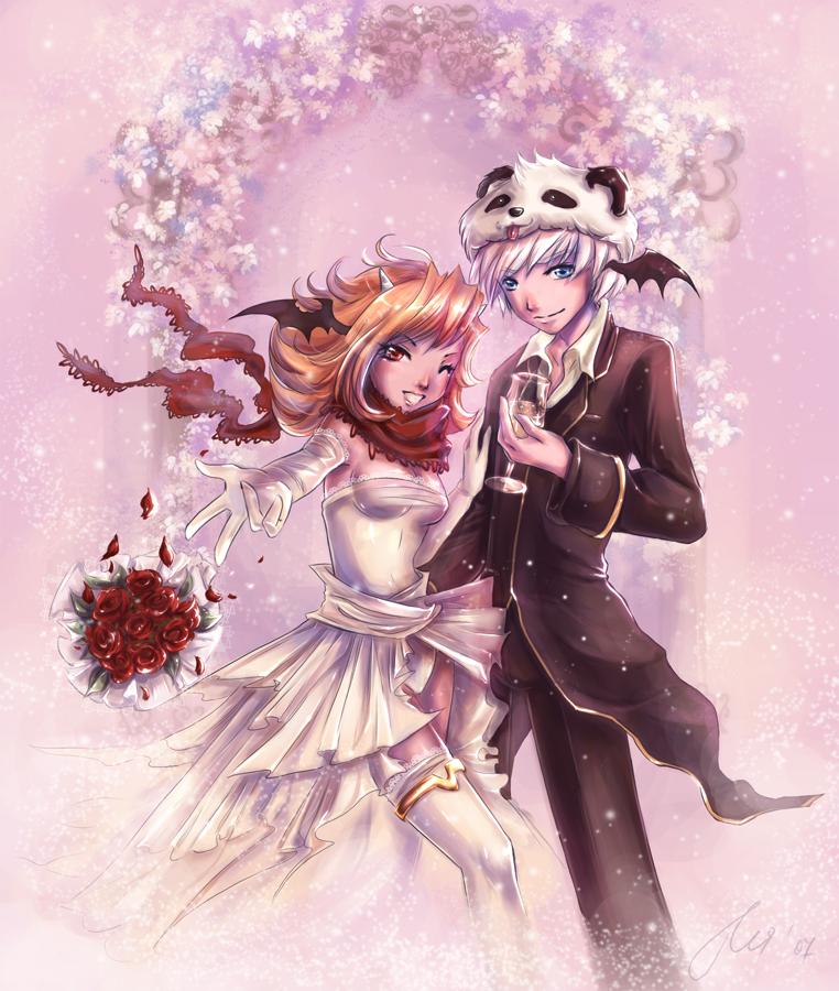 Como contra posición  u_ú RO__Wedding_by_AppleSin