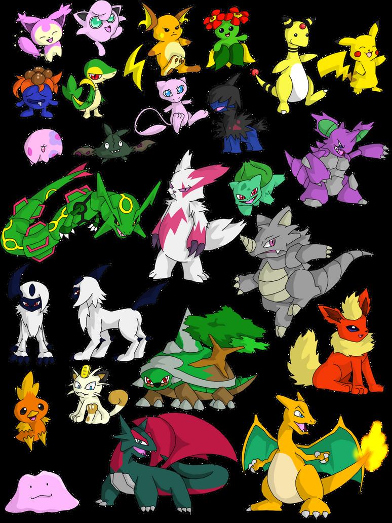 25 pokemon by fire ice n lightning on deviantart 25 pokemon by fire ice n lightning sciox Gallery