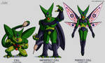 Character Design - Cell All Forms