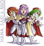 Grandia - Nana, Saki and Mio