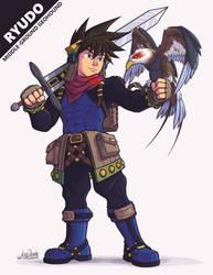 Grandia II - Ryudo by The-Quill-Warrior