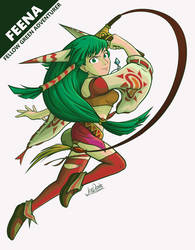Grandia - Feena Touch-Up by The-Quill-Warrior