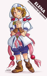 Grandia II - Elena by The-Quill-Warrior