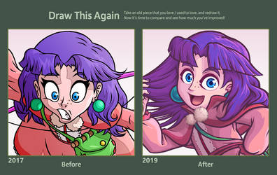 Sue Before and After by The-Quill-Warrior
