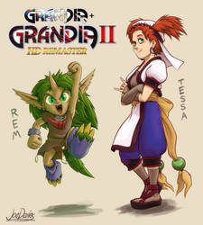 Request - Grandia - Rem and Tessa