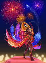 Colori Da Fenix - The Arcane Samba Dancer