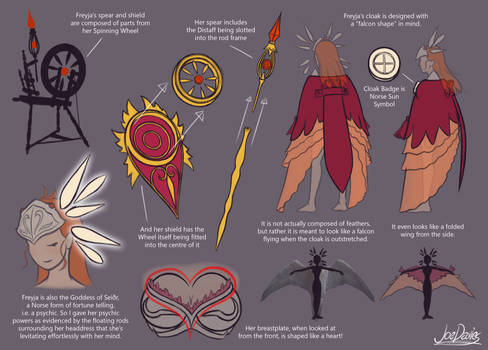 Freyja Character Sheet