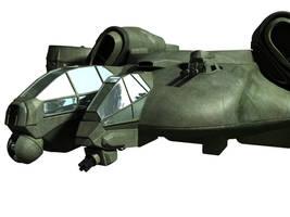 C-21 Dragon Dropship - WIP 3 by MandesDesign