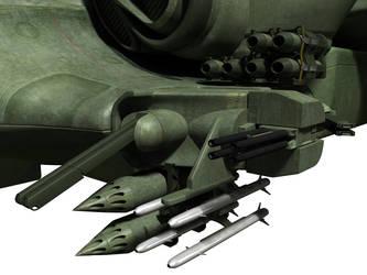 C-21 Dragon Dropship - WIP 5 by MandesDesign