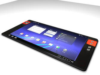 Android 3.0 tablet trial WIP 1 by MandesDesign
