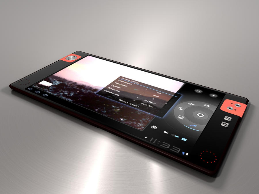 Android 3.0 tablet trial WIP 5 by MandesDesign