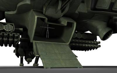 C-22 Viper Attackship - WIP 3 by MandesDesign