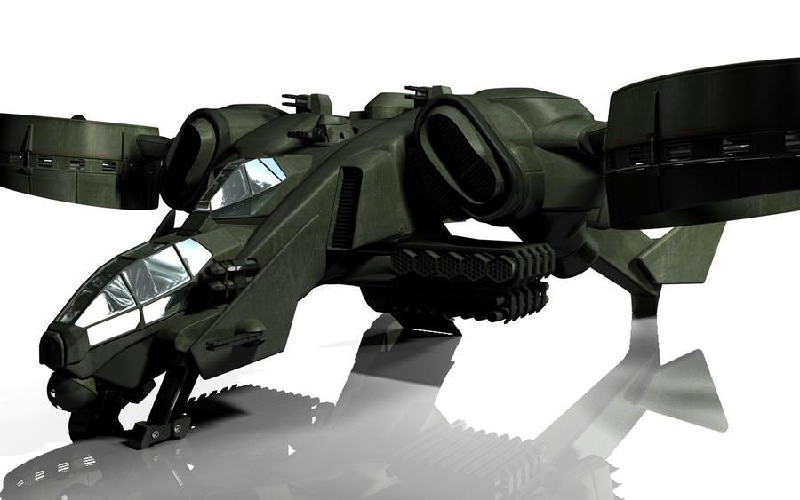 C-22 Viper Attackship - WIP 4 by MandesDesign