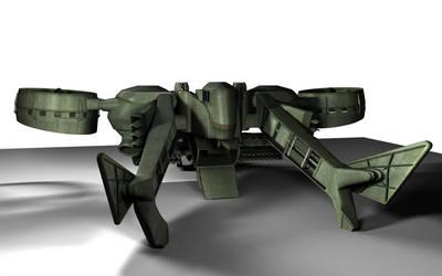 C-22 Viper Attackship - WIP 5 by MandesDesign