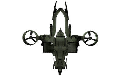 C-22 Viper Attackship - WIP 6