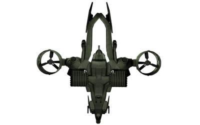 C-22 Viper Attackship - WIP 6 by MandesDesign